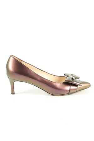 RALPH RICCI Spitz-Pumps bronzefarben Elegant