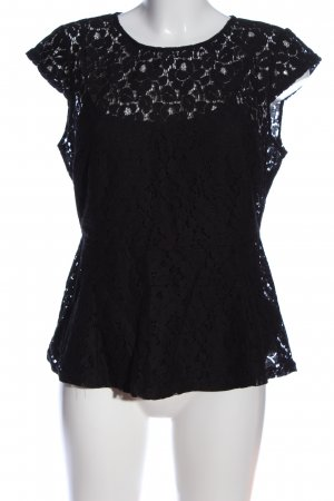 Lace Blouse black elegant