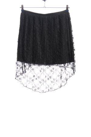 Koronkowa spódnica czarny W stylu casual