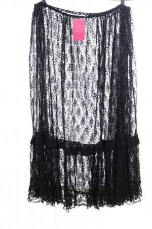 Lace Skirt black elegant