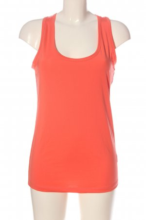 for sport Sporttop rot Streifenmuster Casual-Look