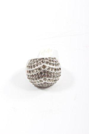 Statement ring zilver elegant