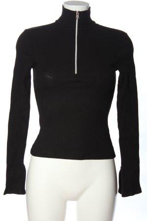 Sailor Sweater black casual look