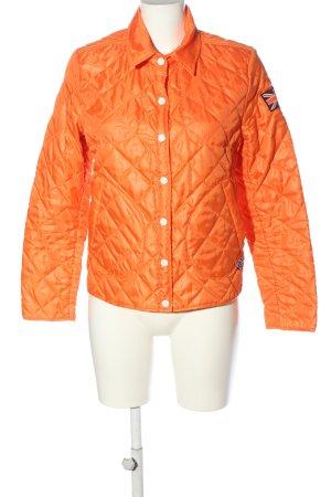 kilt heritage Chaqueta acolchada naranja claro estampado acolchado look casual