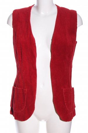 Steppweste rot Casual-Look