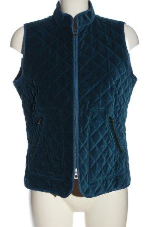 Timberland Gilet matelassé bleu motif de courtepointe style décontracté