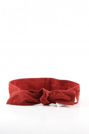 Stoffgürtel rot Casual-Look