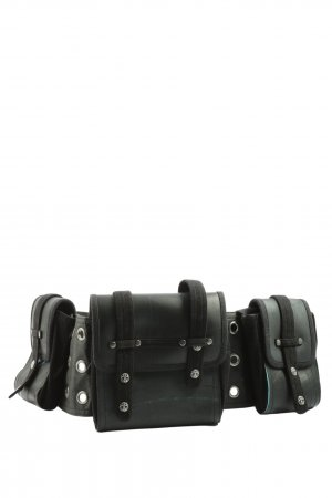 Psylo Fabric Belt black casual look