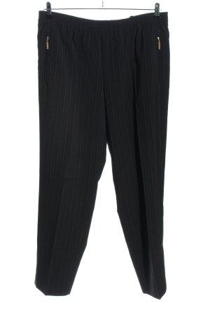 Come on Pantalone jersey marrone-nero motivo a righe stile professionale