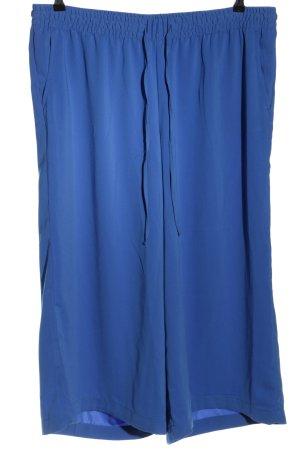 Stoffhose blau Casual-Look
