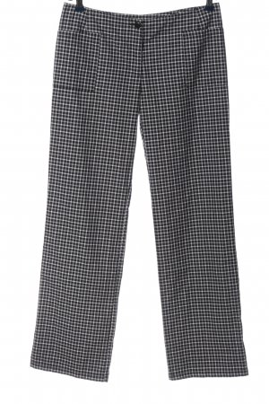 Der Walter Jersey Pants black-white allover print business style