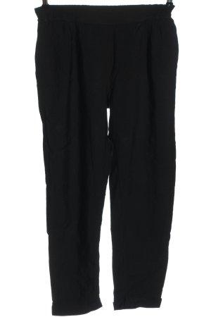 Jersey Pants black casual look