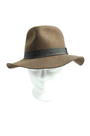 Biltmore Cappello in tessuto marrone-nero stile casual