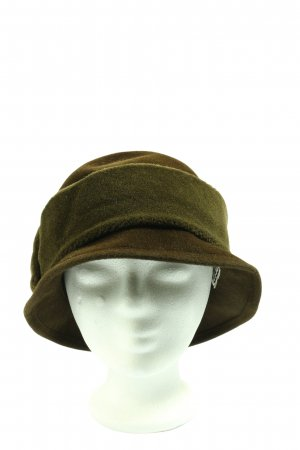 Fabric Hat bronze-colored casual look