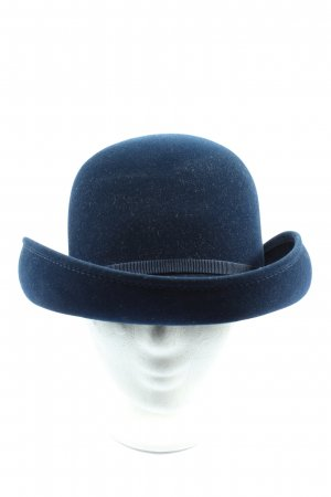 Fabric Hat blue casual look