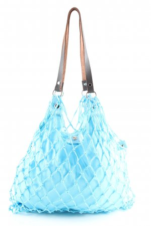 Canvas Bag turquoise casual look
