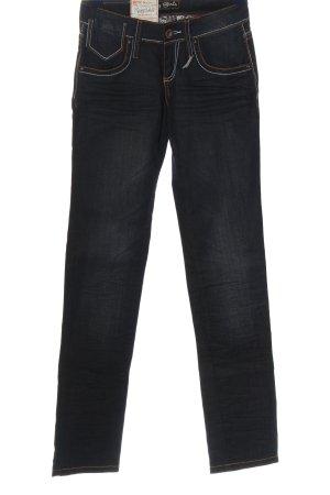 Rusty Straight-Leg Jeans blau Casual-Look