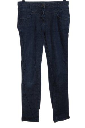 Straight-Leg Jeans blau Casual-Look