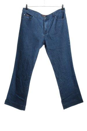 Lusy & Elisa Straight-Leg Jeans blau Casual-Look
