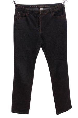 Straight-Leg Jeans braun Casual-Look