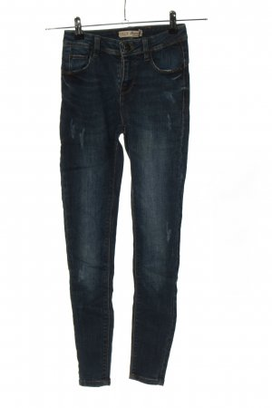 H&M DENIM Stretch jeans blauw casual uitstraling