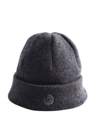 Knitted Hat light grey flecked casual look