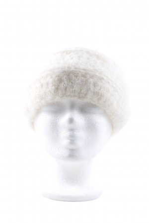 Knitted Hat cream casual look