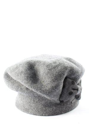 wegener Knitted Hat light grey casual look