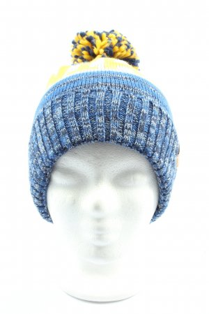 Nihil Knitted Hat printed lettering casual look