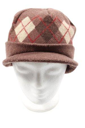 Cappello a maglia motivo grafico stile casual