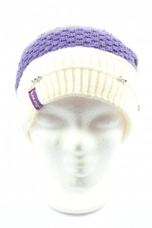 Knitted Hat striped pattern casual look