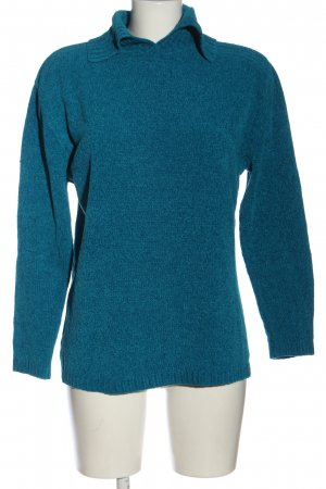 XPRESSIONS Knitted Sweater blue flecked casual look