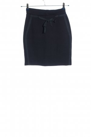 La Ligna Knitted Skirt blue casual look