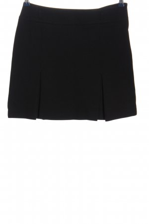 Knitted Skirt black business style