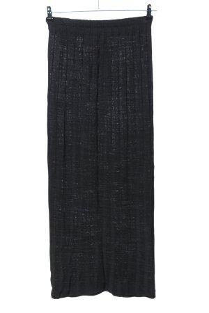 PUUR Falda de punto negro look casual