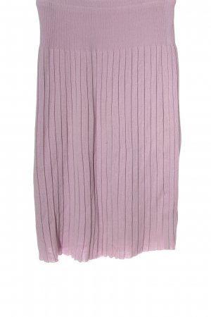 Knitted Skirt lilac casual look