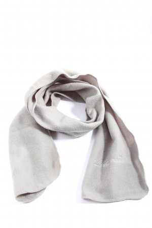 Knitted Scarf light grey casual look