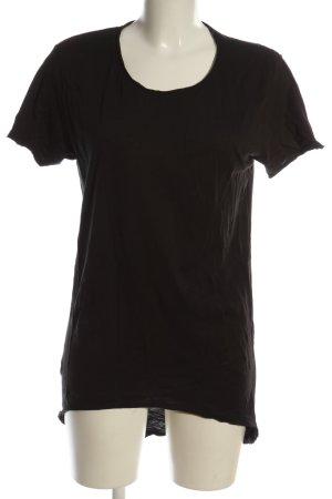 Strickshirt schwarz Casual-Look