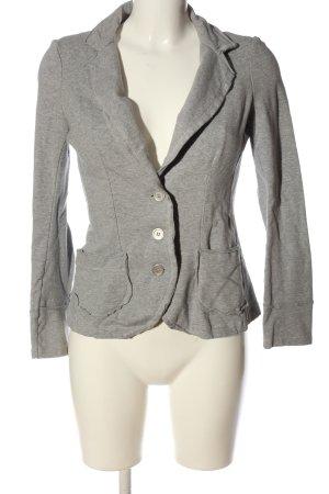 H.eich Sweat Blazer light grey flecked casual look