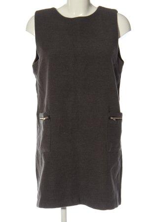 Bad diary Sukienka dresowa brązowy Melanżowy W stylu casual