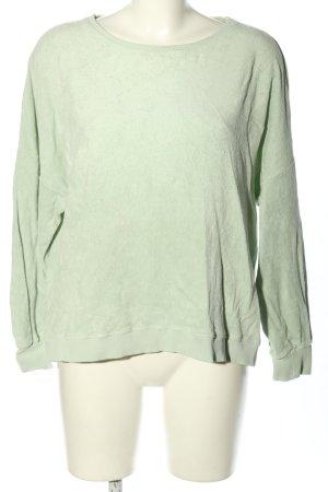 Sweatshirt grün Casual-Look