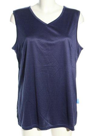 T-Shirt blau Casual-Look