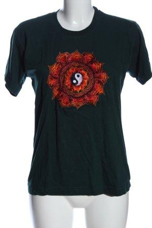 danfe T-Shirt grün Casual-Look