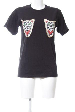 T-Shirt Motivdruck Casual-Look