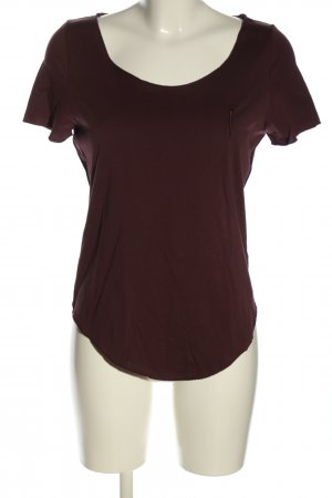 T-Shirt rot Casual-Look