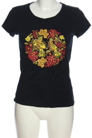 vancl T-Shirt Motivdruck Casual-Look