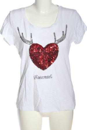 Hailys T-Shirt mehrfarbig Casual-Look