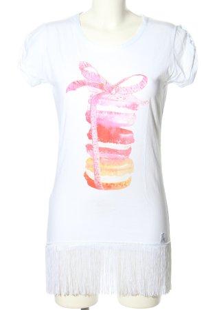 ranpollo T-Shirt Motivdruck Casual-Look