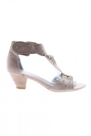 Softline T-Strap Sandals pink casual look
