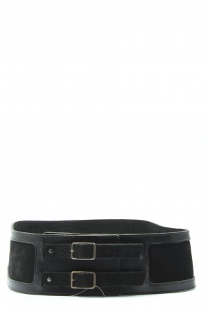 Cinturón pélvico negro estilo «business»
